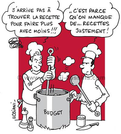 Trouver la bonne recette d'un budget