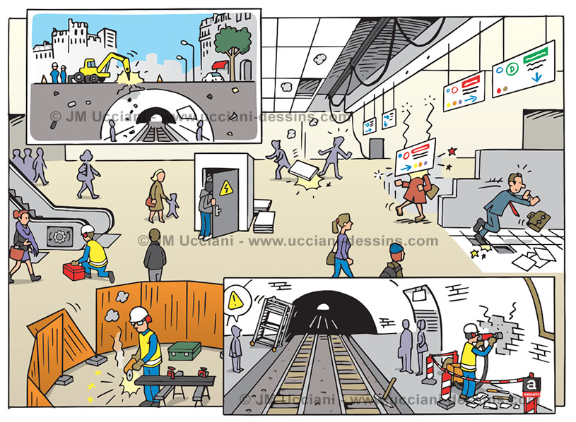 Sécurité chantiers dans les espaces ERP (Espaces Recevant du Public)