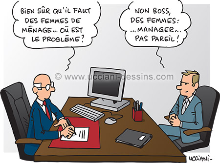 La place des femmes dans le management