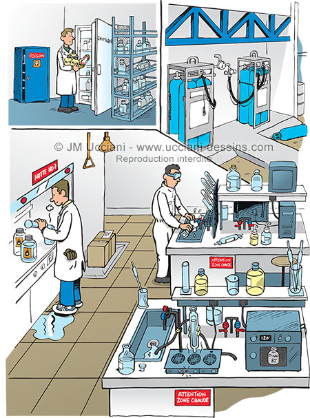 laboratoire chimie