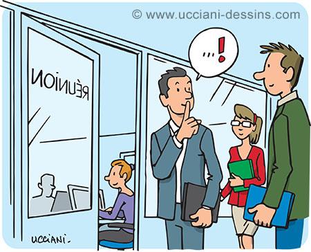 Nuisances sonores au bureau