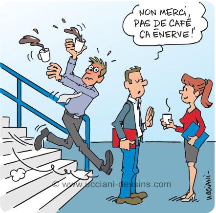 Risque de chute dans les escaliers