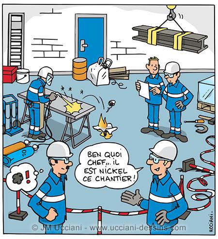 Sécurité et rangement en entreprise, atelier, industrie...