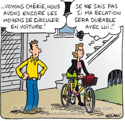 Allons au travail à vélo
