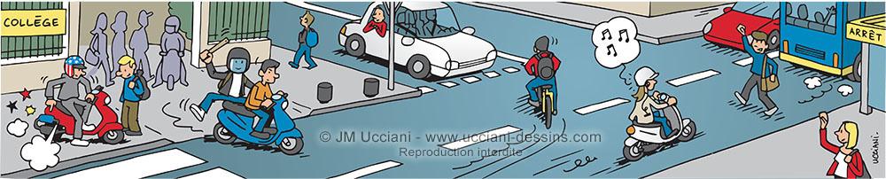 Sécurité routière destinée aux enfants