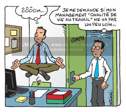 Management et qualité de vie au travail